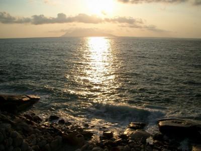 屋久島1・いなか浜の夕日 046 (640x480)