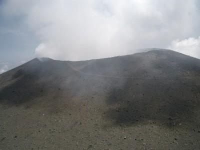 浅間山 058・前掛山山頂から浅間山 (640x480)