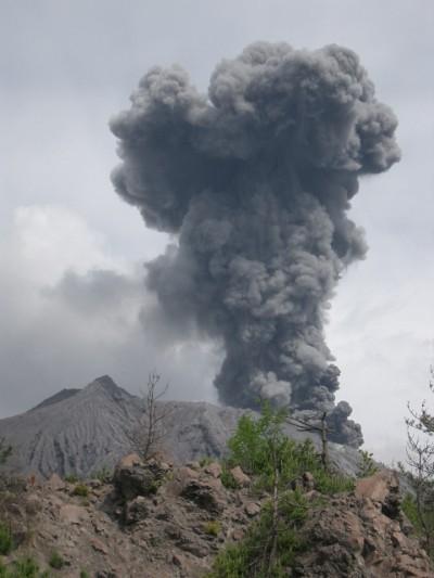 鹿児島 055・溶岩展望所から桜島 (480x640)
