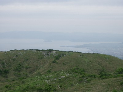 霊仙山 031・経塚山から琵琶湖 (640x480)