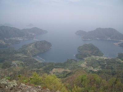 青葉山 020・西峰から内浦湾 (640x480)