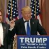 トランプ米大統領候補が株価を下げる。