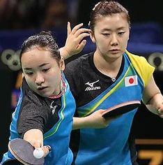 五輪女子卓球に期待大。 面白い。