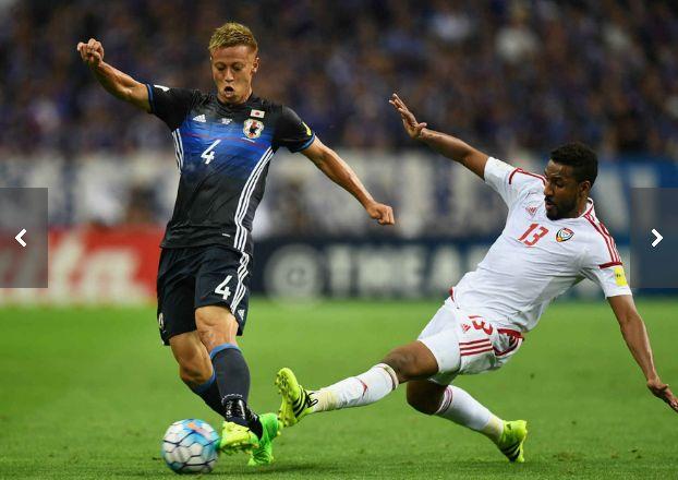 サッカー日本代表、UAEにまさかの敗戦1-2。