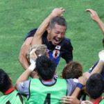 サッカー日本代表、豪州を2-0で破って、ワールドカップを決める。