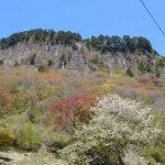 屏風岩の断崖絶壁のてっぺん。