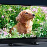 テレビ画面がぼやけてきたので、買い替えた。