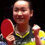 世界卓球、日本女子、惜しくも中国に届かず。